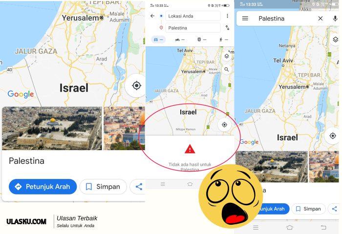 palestina-hilang-dari-peta-google-maps