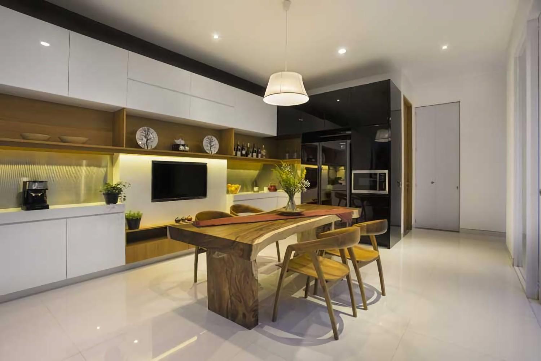 Hasil gambar untuk Desain Interior Dapur Tidak Perhatikan Tata Letak Desain