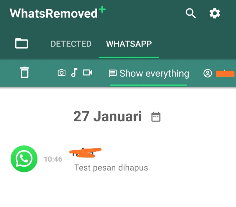 Cara Melihat Isi Pesan WhatsApp Yang Sudah Dihapus Oleh Pengirim