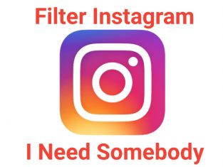 Filter IG I Need Somebody