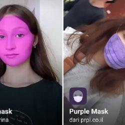 Filter IG Masker Wajah Ungu di Instagram, Ini Nama & Cara Memakainya