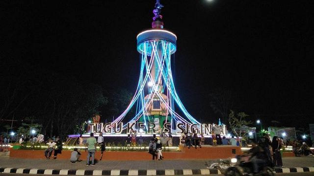 Baru Diresmikan, Ikon Baru Kota Jambi Malah Jadi Bahan Lelucon - Regional Liputan6.com