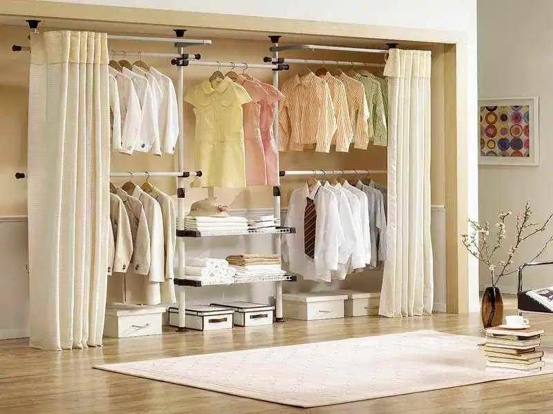 Desain Lemari Pakaian yang Beragam Membantu Merapikan Busana