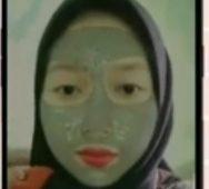filter ig masker hijau