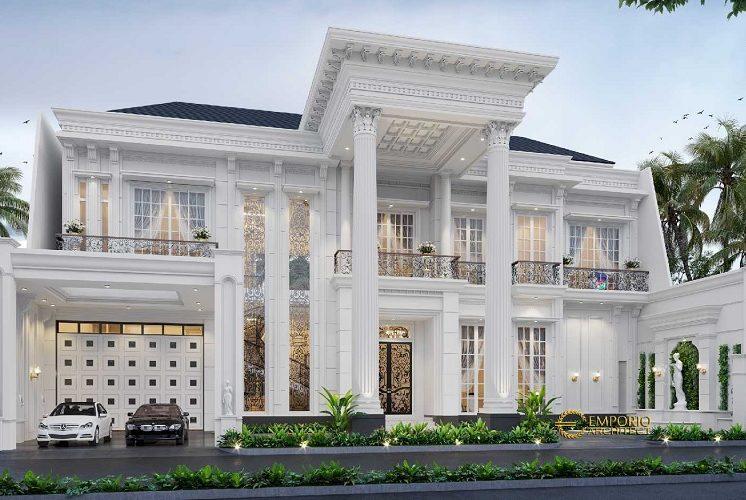 Inspirasi Desain Rumah Klasik Mancanegara Memberikan Kesan Mewah