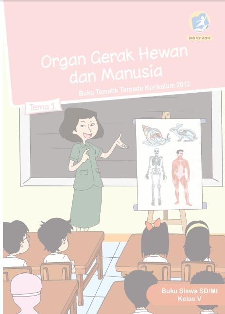 BS K5 Tema 1 2013 R17 Organ Gerak Hewan dan Manusia